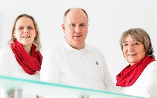v.l.: Vanessa Schmidt, Dr. Bernardo Fünfgeld, Gabriele Jahn